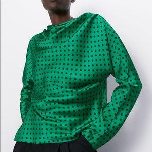 Zara Tops - Zara printed blouse